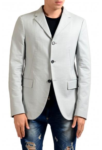 Jil Sander Men's Gray Three Button Blazer Sport Coat