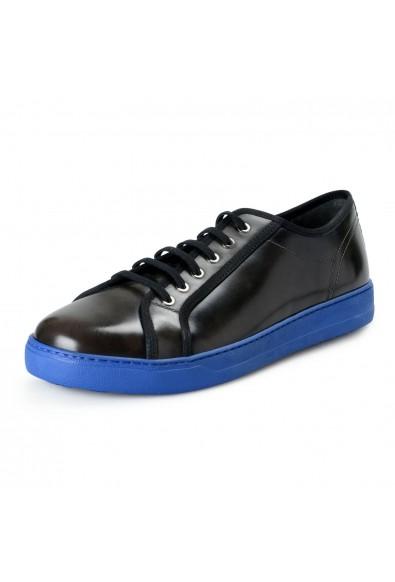Salvatore Ferragamo Men's Fulton Black Leather Fashion Sneakers Shoes