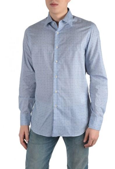 Prada Multi-Color Long Sleeve Dress Shirt