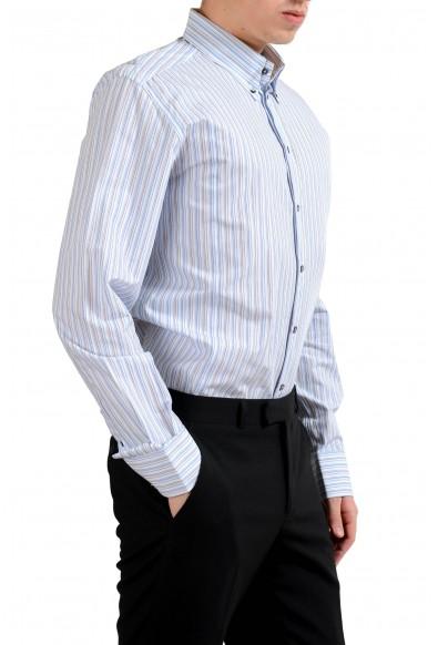 "Dolce & Gabbana ""Martini"" Men's Striped Long Sleeve Dress Shirt: Picture 2"