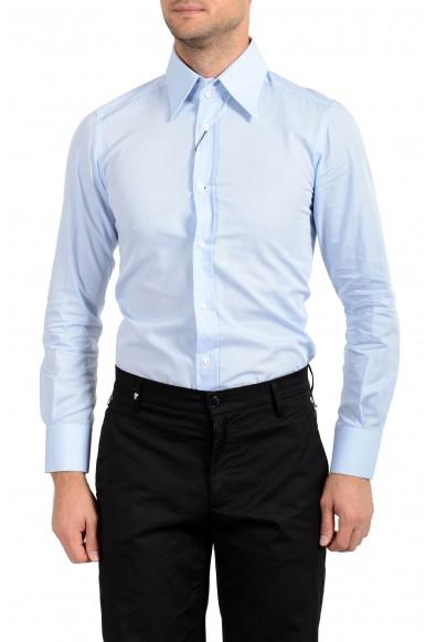 Dolce&Gabbana Men's Light Blue Long Sleeve Dress Shirt : Picture 2