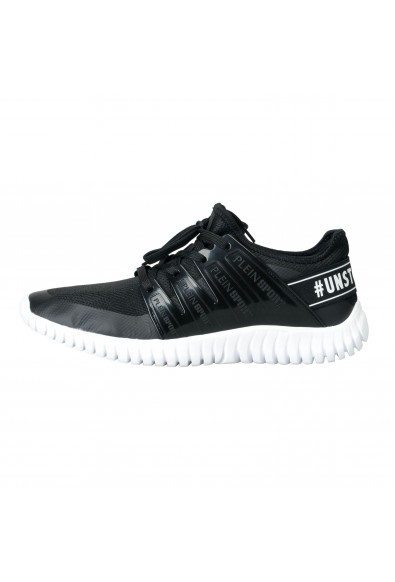 """Plein Sport """"Robinson"""" Black Runner Fashion Sneakers Shoes: Picture 2"""