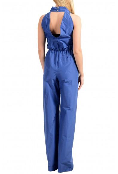Viktor & Rolf Women's Blue Sleeveless Jumpsuit Romper: Picture 2