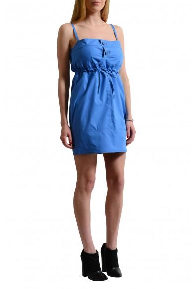 Dsquared2 Blue Women's Spaghetti Straps Sheath Dress : Picture 2