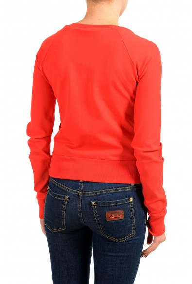 Dsquared2 Women's Red Embellished Full Zip Track Jacket: Picture 2
