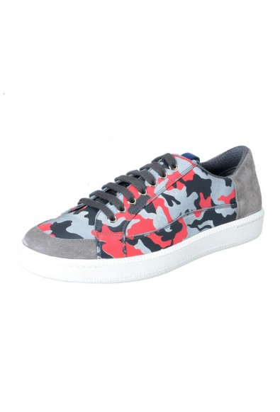 Car Shoe By Prada Men's Camouflage Leather Fashion Sneakers Shoes