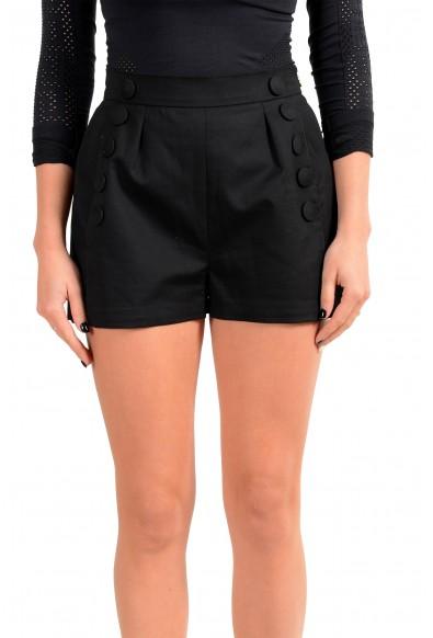 Just Cavalli Women's Black Mini Shorts