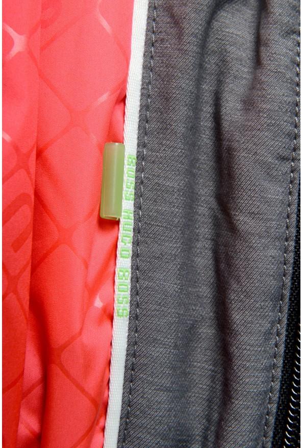 """Hugo Boss """"Jamick Pro"""" Men's Gray Zip Windbreaker Jacket: Picture 7"""