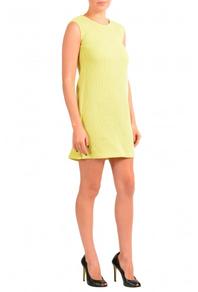 Maison Margiela MM6 Women's Yellow Wool A-Line Shift Dress : Picture 2