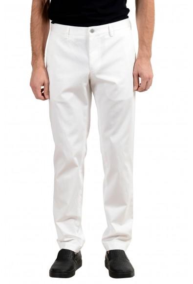 "Hugo Boss ""Stanino17-W_1"" Men's White Casual Pants"