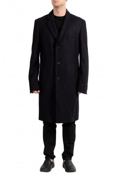 "Hugo Boss ""Nye2_BXN"" Men's Wool Silk Three Button Coat"