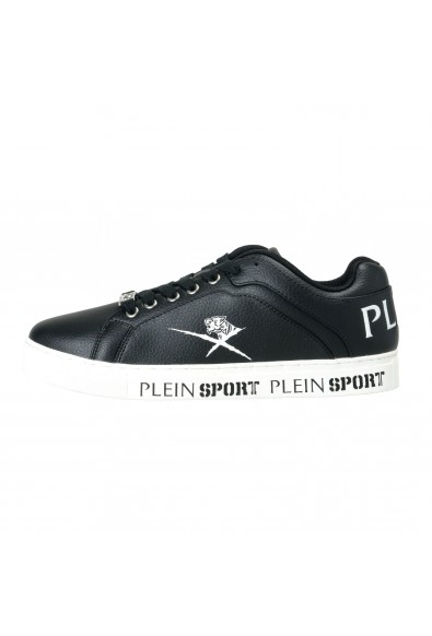 "Plein Sport ""Julian"" Black Fashion Sneakers Shoes: Picture 2"