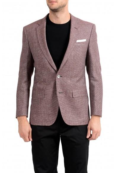 "Hugo Boss ""Janson5"" Men's Linen Two Button Blazer Sport Coat"