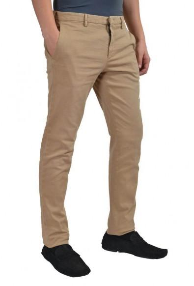 Prada Men's Beige Khaki Casual Pants: Picture 2