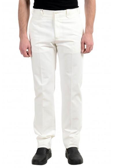 Malo White Men's Casual Pants