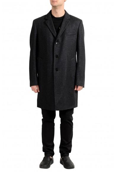 "Hugo Boss ""Nye1"" Men's Wool Three Button Coat"