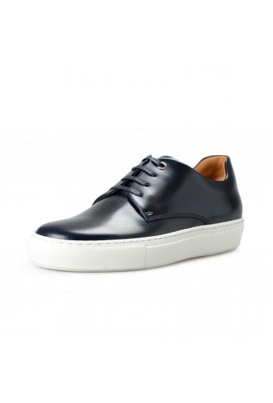 "Hugo Boss Men's ""Mirage_Tenn_budr"" Dark Blue Leather Fashion Sneakers Shoes"