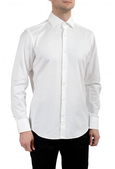 "Hugo Boss ""Gerald"" Men's White Regular Fit Long Sleeve Dress Shirt"