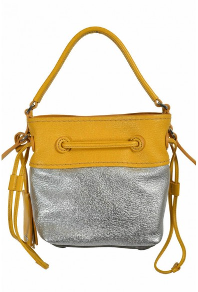 Miu Miu Women's Two Tone Leather Bucket Handbag Shoulder Bag: Picture 2