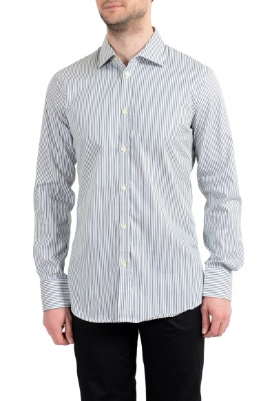 Dsquared2 Men's Striped Long Sleeve Casual Shirt