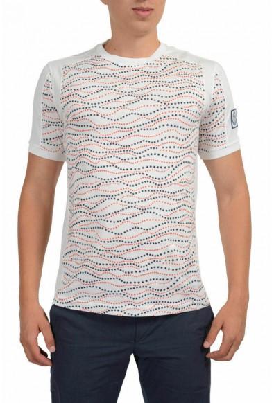 Moncler Gamme Bleu Men's Multi-Color Crewneck T-Shirt