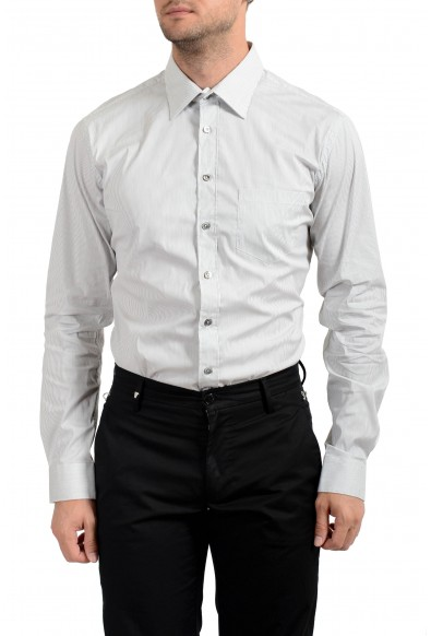 Malo Men's Striped Stretch Long Sleeve Dress Shirt: Picture 2