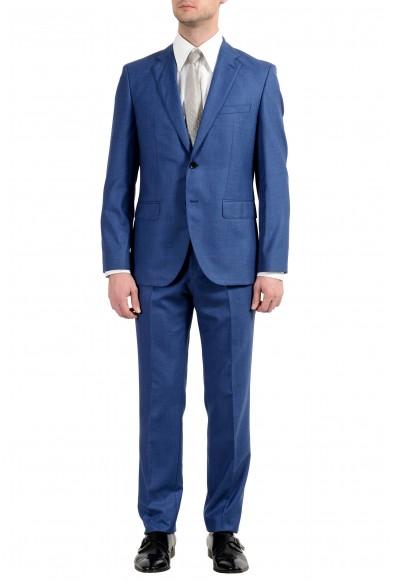 """Hugo Boss """"Johnstons5/Lenon1"""" Men's Blue 100% Wool Two Button Suit"""