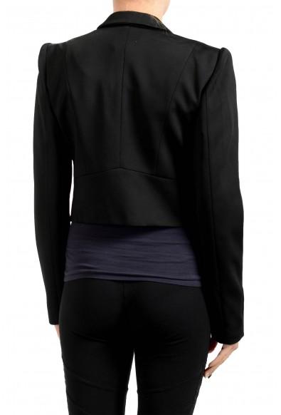 Just Cavalli Women's Black One Button Blazer : Picture 2