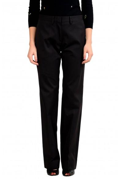Maison Margiela 4 Women's Striped Black Casual Pants