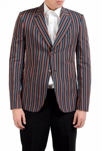 "Maison Martin Margiela ""14"" Striped Slim Blazer Men's Sport Coat"