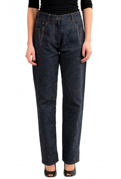 Maison Margiela 1 Linen Denim Women's Casual Pants