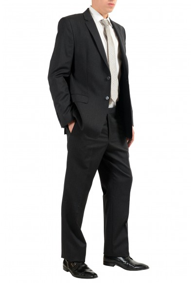 Versace Collection Men's 100% Wool Striped Two Button Suit: Picture 2