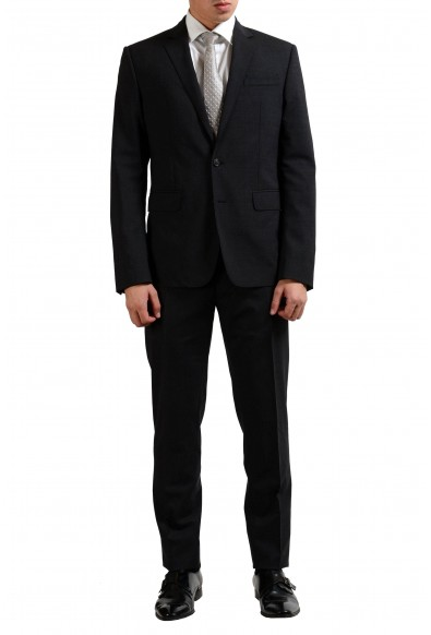 Dsquared2 Men's Wool Charcoal Two Button Suit