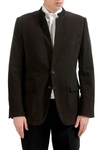 Dolce & Gabbana Men's Brown Two Button Blazer Sport Coat