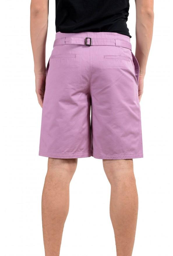 Versace Men's Purple Casual Shorts : Picture 3