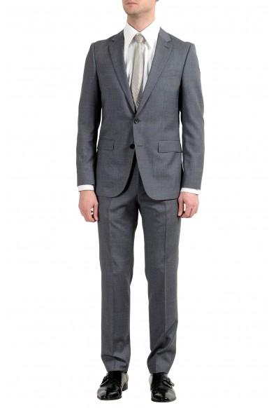 """Hugo Boss """"Novan5/Ben2"""" Men's 100% Wool Slim Gray Two Button Suit"""