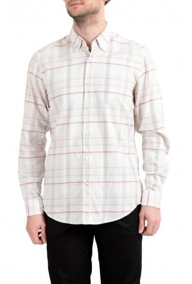 "Hugo Boss ""Lod_F"" Men's Regular Fit Plaid Long Sleeve Casual Shirt"