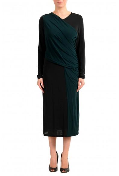 """Hugo Boss Women's """"Eretha"""" Multi-Color Stretch Evening Dress"""
