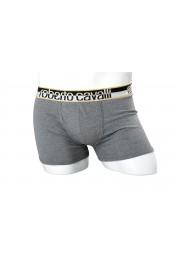 Roberto Cavalli Men's Gray Boxer Underwear