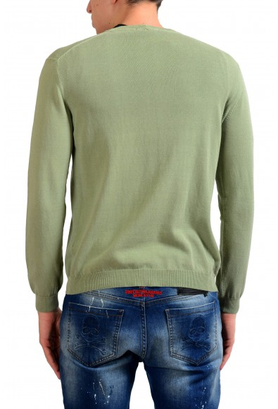 Malo Men's Green Cardigan Sweater : Picture 2