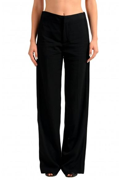 Maison Margiela 4 Wool Black Women's Casual Pants