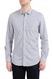 Etro Men's Multi-Color Striped Long Sleeve Button Down Casual Shirt