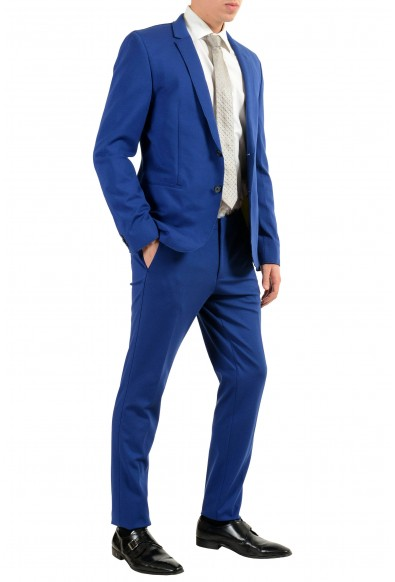 """Hugo Boss """"Arsey1/Hyns1"""" Men's Blue Stretch Two Button Suit: Picture 2"""