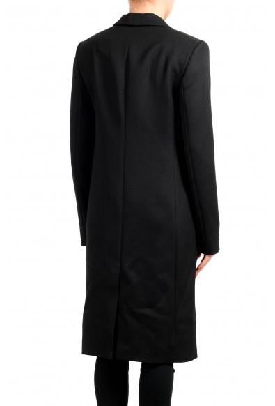 "Hugo Boss Women's ""Cotedo"" Black 100% Wool Coat : Picture 2"