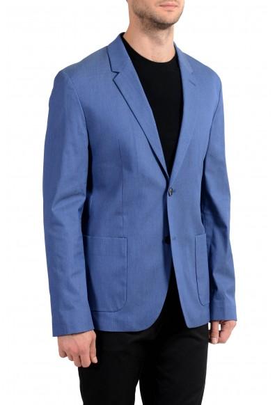 "Hugo Boss ""Areltu"" Men's Blue Dotted Two Button Blazer Sport Coat: Picture 2"