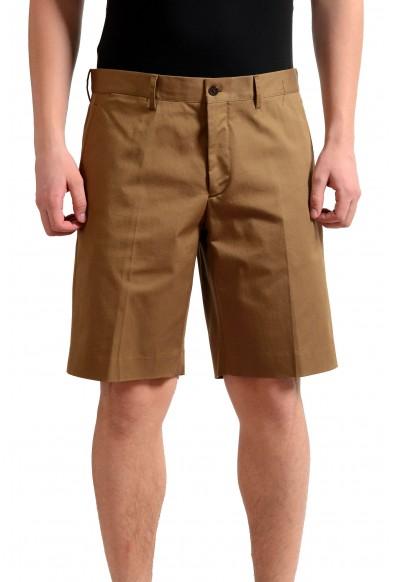 Prada Men's Brown Stretch Casual Shorts