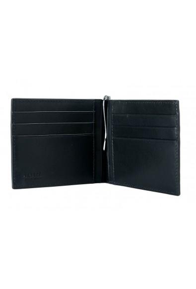 Versace Men's 100% Leather Black Money Clip Wallet: Picture 2