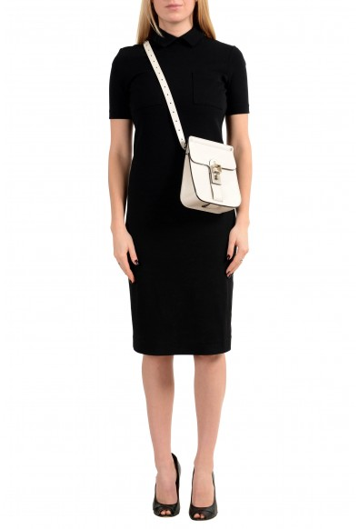 Proenza Schouler Women's Light Beige Leather Crossbody Shoulder Bag: Picture 2