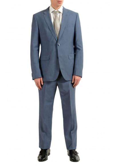 "Hugo Boss ""C-Jeys1/C-Shaft1"" Men's 100% Wool Blue Two Button Suit"