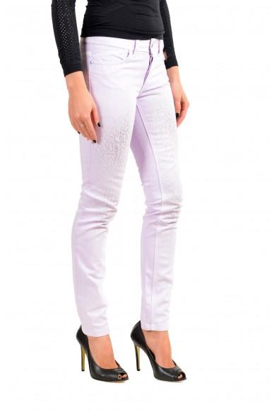 Just Cavalli Women's Purple Skinny Leg Jeans : Picture 2
